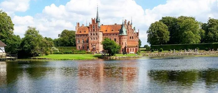 Egeskov is one of the most beautiful danish castles